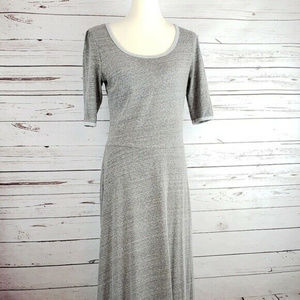LuLaRoe Size L Maxi Dress with Flowing Skirt